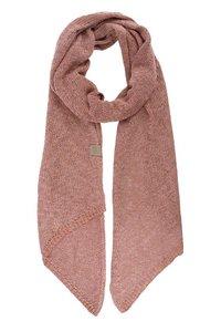 Luchtig gebreide sjaal rouge